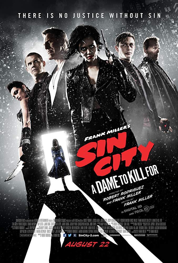 Sin City: A Dame to Kill For (2014) เมืองคนบาป 2