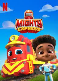 Mighty Express A Mighty Christmas (2020) ไมตี้ เอ็กซ์เพรส ไมตี้ คริสต์มาส   Netflix